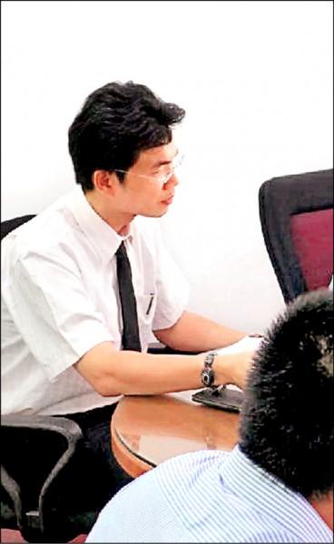 花蓮地檢察署檢察官林俊佑不滿女兒在幼兒園疑似遭人欺負,竟找刑警到校辦私案。(記者王錦義翻攝)