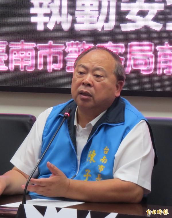 陳子敬表示,他不支持東奧正名。(資料照)