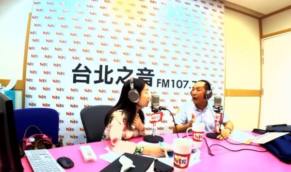 林義豐今(30日)早上接受廣播節目專訪。(圖擷取自「Hit Fm聯播網-周玉蔻《蔻蔻早餐》」臉書粉絲團)