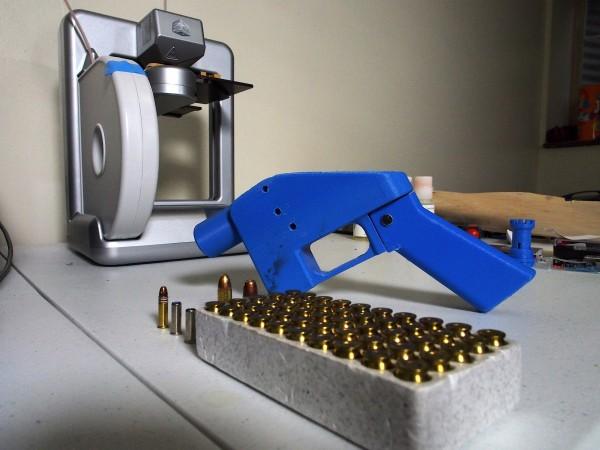 3D列印手槍不具金屬材質、沒有生產序號的特性讓它非常難被追蹤、監控。(法新社)