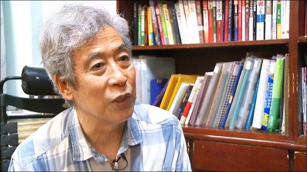 中國學者孫文廣一日在家對美國之音針砭中國時政,引來一群公安,讓他當眾「被消失」。(法新社檔案照)
