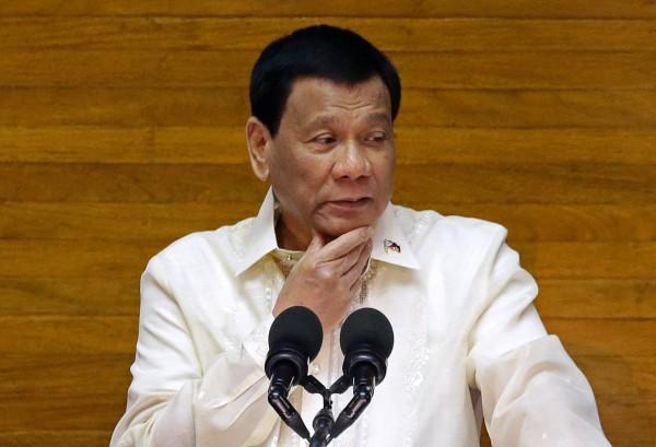 菲律賓總統杜特蒂表示,那些法外處決者會在天堂享受人權。(路透)