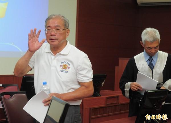 高院審理蘇炳坤案,最後高院判決無罪。(記者王藝菘攝)