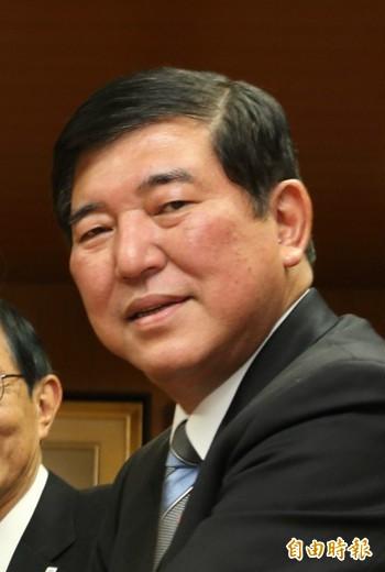 自民黨前幹事長石破茂透露,明(10)天將正式宣布參選黨魁。(資料照)