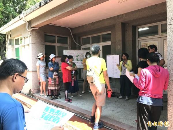 高市推出全國首創眷村民宿政策,迄今已累積超過千人看屋。(記者黃佳琳攝)