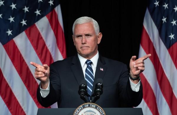 美國副總統彭斯9日在五角大廈宣布,鑑於來自俄羅斯和中國愈來愈大的威脅與競爭,美國將啟動在2020年前創建美軍第6個軍種「太空軍(Space Force)」的計畫。(法新社資料照)