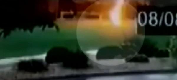 美國2名少年雙雙被閃電擊中。(圖擷自PrestonTVNews推特)