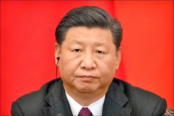 中國國家主席習近平。(美聯社檔案照)
