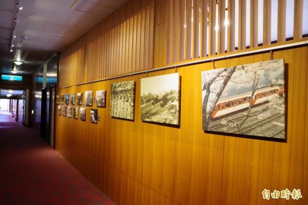阿里山賓館的歷史沿革都在1913阿里山舊事所地方文化館呈現。(記者曾迺強攝)