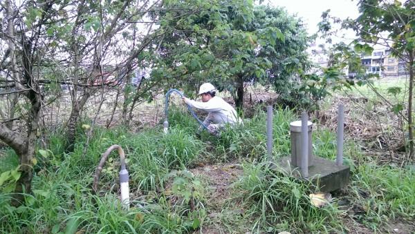 RCA桃園廠經整治,目前廠內外僅剩2口監測井氯乙烯超標。(桃園市環保局提供)
