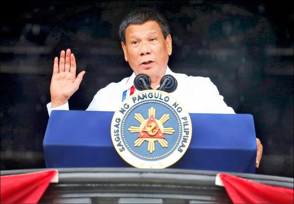 菲律賓總統杜特蒂十四日宣布已退出天主教,並重砲抨擊天主教教義,揚言自創教派。(美聯社檔案照)