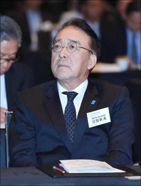 日本駐台代表沼田幹夫昨親自拜會馬英九,並前往國民黨中央黨部拜會國民黨主席吳敦義,就慰安婦議題表達日本政府的立場。(資料照)