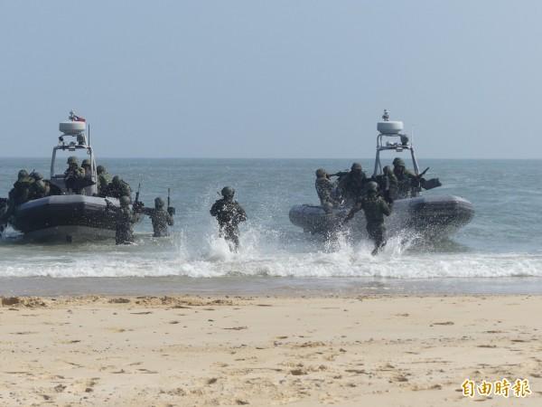 國防部強調,國軍有能力捍衛國家安全,確保國家安全及區域和平穩定。(資料照)