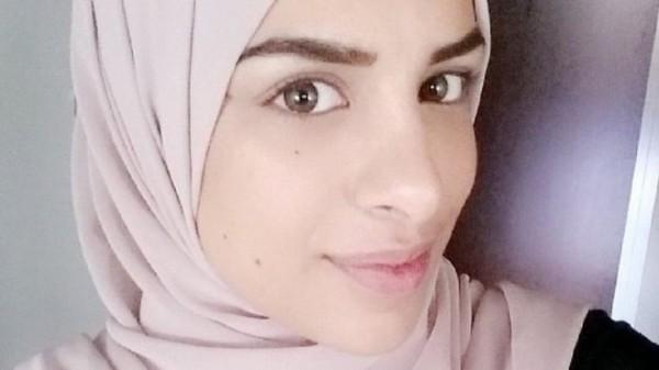 瑞典一位女穆斯林因為在面試時沒與男面試官握手,遭取消面試機會。(圖擷自推特)