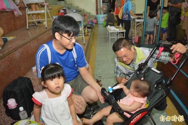 彰化縣長魏明谷想用社福的生育育兒政策,箍住年輕人的心。(記者張聰秋攝)