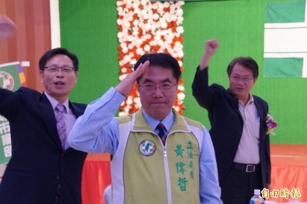 本報民調顯示,台南市長選舉,民進黨參選人黃偉哲以40.6%支持度,領先其他參選人。(資料照)