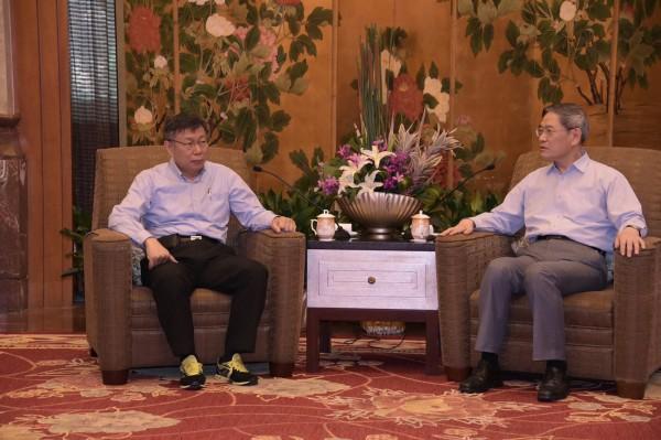 郭文貴稱柯文哲當台北市長,就是台灣的悲劇。(資料照,中央社)