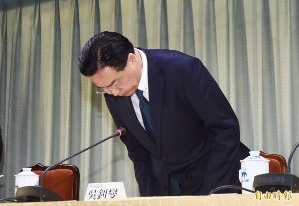 薩爾瓦多轉向與中國建交,外交部長吳釗燮表示不會規避丟掉邦交國的責任,不過,黨政高層明確表示,「沒有這個問題」,吳會繼續領導外交部門。(記者羅沛德攝)