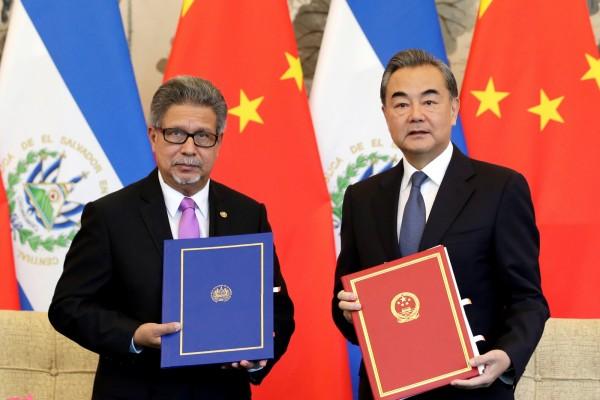 台灣與中南美洲友邦薩爾瓦多今天斷交,薩國改與中國建交。(路透)
