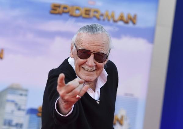 被譽為「美國英雄漫畫之父」的著名漫畫家史丹‧李 (Stan Lee)傳出一度遭控制及虐待。(美聯社)