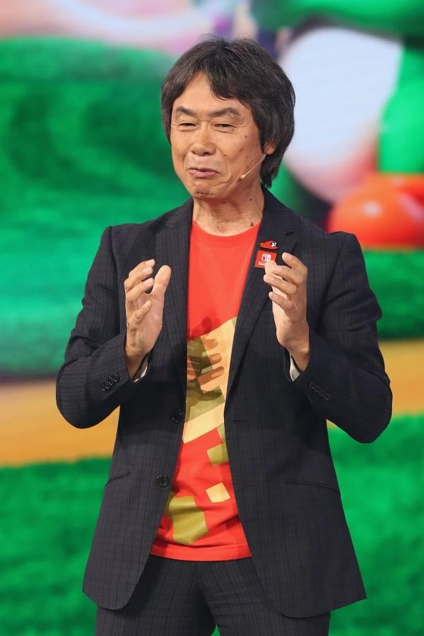 任天堂設計師宮本茂表示,他希望遊戲業者停止一點一滴的掏空玩家。(法新社)