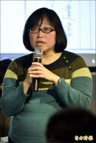 台大政治系教授黃長玲。(資料照,記者陳奕全攝)
