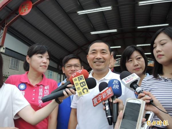 國民黨新北市長參選人侯友宜。(資料照)