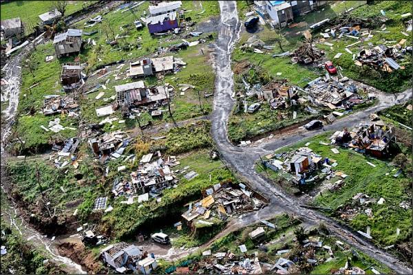 瑪莉亞颶風去年九月重創波多黎各。(美聯社檔案照)