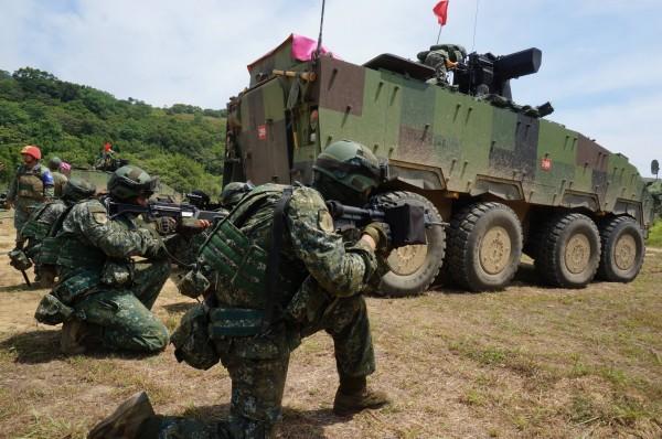 圖為國防部漢光34號演習。(軍方提供)