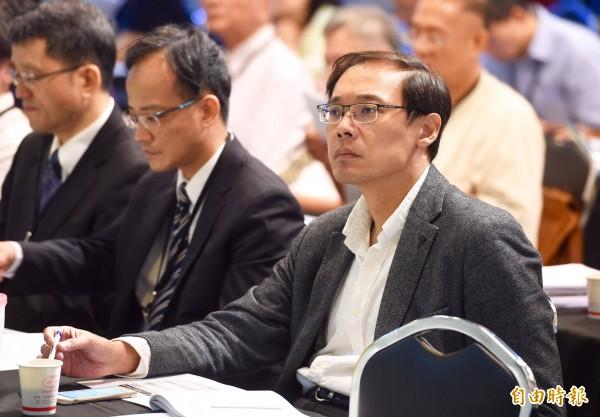 國民黨前發言人楊偉中驚傳在太平洋庫克群島度假期間溺斃。(資料照)
