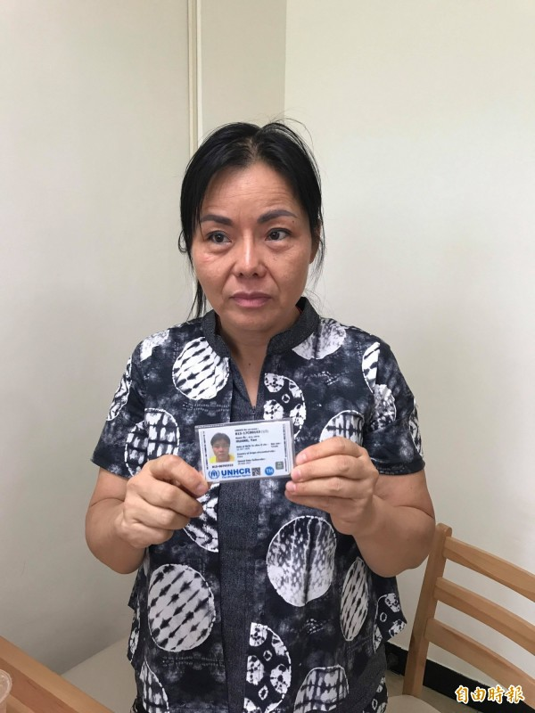 中國維權人士黃燕在今年5月29日來台申請短暫居留3個月,8月29日到期後,再申請一個月並獲得許可。目前已有第三國願意提供她政治庇護。(資料照,記者彭琬馨攝)