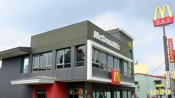 全台麥當勞除部分門市外,今天上午10點半後暫停營業。(資料照)