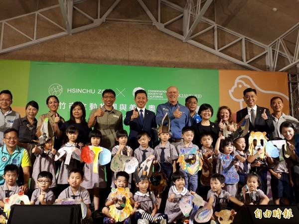 爭取連任的新竹市長林智堅,將以市政工作為優先,10月也會成立競選總部,並以政績爭取市民認同,再造幸福城市。(記者洪美秀攝)