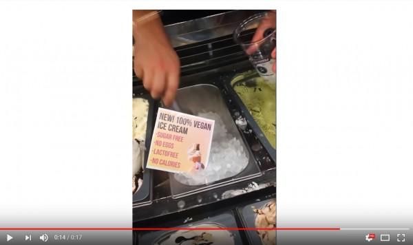 「純素」冰淇淋竟只有冰塊! 網友:太純了吧?