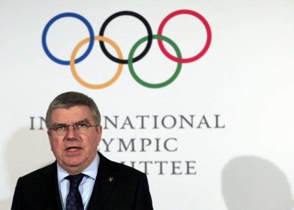 國際奧運委員會主席巴赫認為「從奧委會的觀點看來,『殺人遊戲』與奧林匹克價值觀是衝突的」。(歐新社)