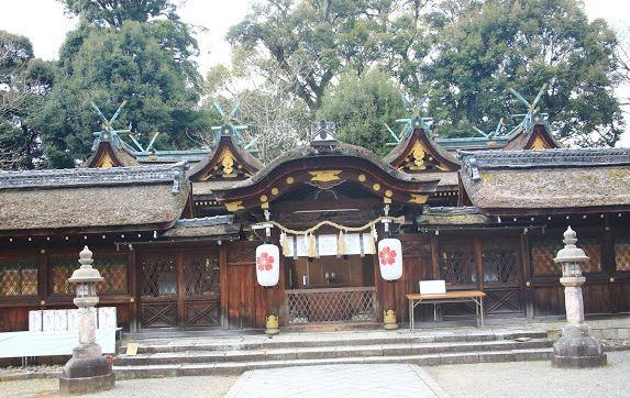平野神社原本的樣貌。(圖擷取自Google Maps)