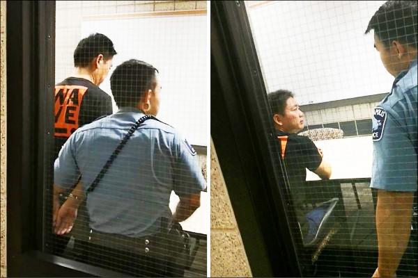 美國警方四日公布報告,披露中國京東集團創辦人兼執行長劉強東日前因涉嫌「一級性侵罪」被捕,他被上手銬帶回警局的照片也隨之曝光。(取自網路)