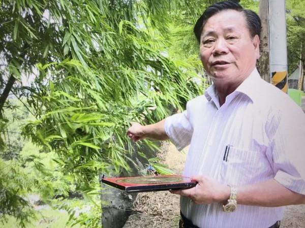 民俗專家蒲慶峰勘查認為139線冤魂多,陰氣重。(記者湯世名翻攝)
