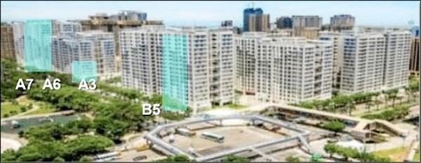 林口新創園是將世大運選手村活化,使用空間為三棟、一樓層,總面積占1.7萬坪。(經濟部提供)