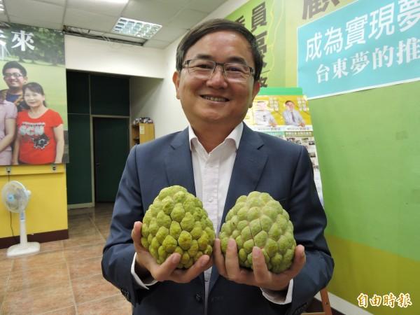 民進黨台東縣長參選人劉櫂豪表示,他與團隊都照原定計劃往前走,現在就是審慎樂觀。(資料照,記者張存薇攝)