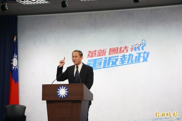 美國聯邦參議院外委會亞太小組議員日前提出「台北法案」,國民黨文傳會代理主委唐德明表示,我方當然歡迎,但令人不解的是,美國既然這麼關心台灣,為什麼不直接與中華民國建交?(資料照)