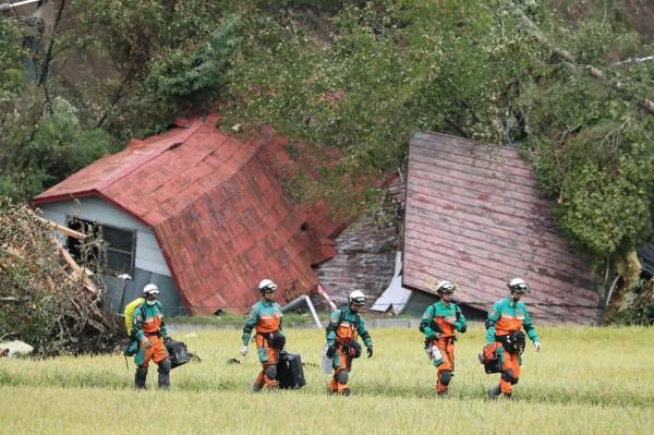 北海道地震最新死傷統計顯示,死亡人數已經增至39死,1人下落不明,超過650人受傷。(法新社)