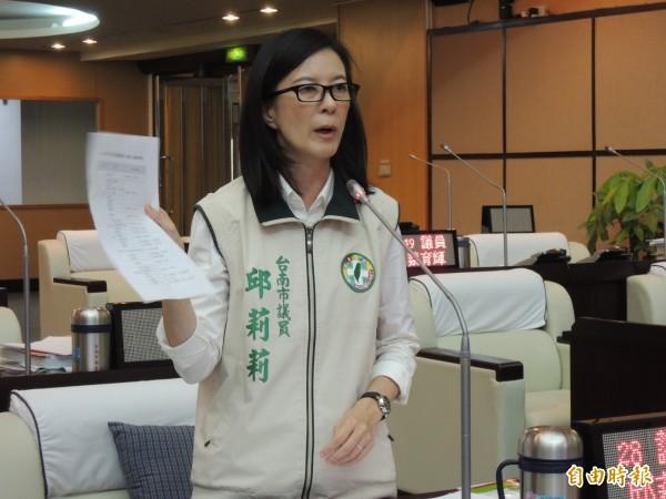 邱莉莉表示,陳冲先前聲稱房屋稅違憲還被朱立倫打臉,「高思博到底要聽師父的還是姊夫的?」(資料照,記者蔡文居攝)