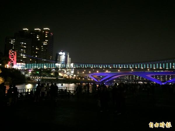 碧潭夜景。(資料照)