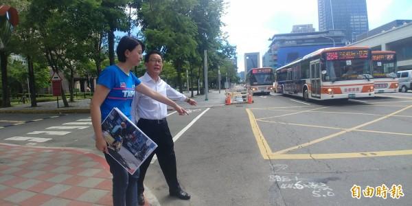 國民黨台北市長參選人丁守中批評柯P不把路平當回事。(記者簡惠茹攝)