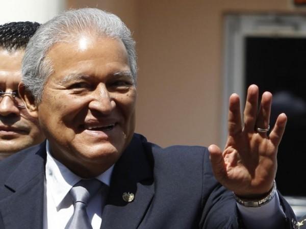 薩爾瓦多總統桑契斯(Salvador Sanchez Ceren)。(路透)