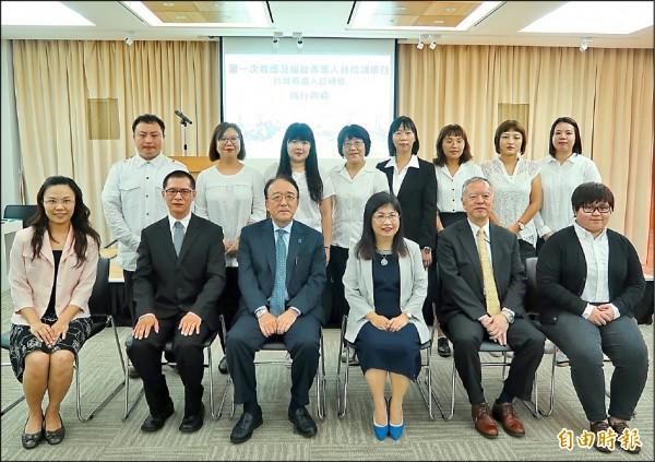 因應超高齡銀髮社會,日本首邀台灣照服員赴日研習,將接受兩個月培訓。(記者呂伊萱攝)