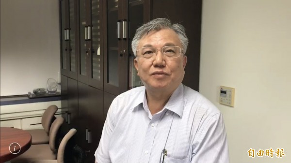 成大主秘李俊璋澄清,成大目前未接受任何選舉委託。(記者劉婉君攝)