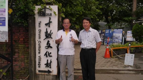 蘇煥智認為,岸內糖廠應學習仁德糖廠的招商模式。(蘇煥智辦公室提供)