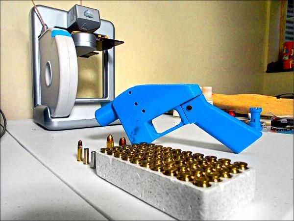 威爾森以3D列印技術製出槍枝並將藍圖上網供人下載,被美國聯邦法官頒布臨時禁制令,要求撤下。(法新社資料照)